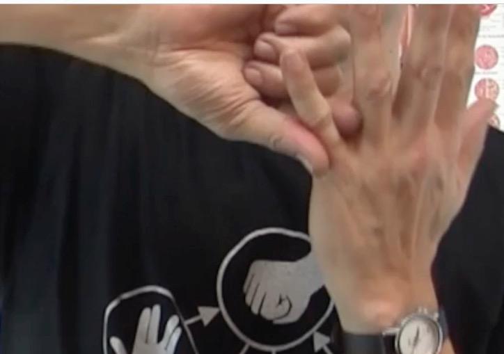 Arm Hand Selbsttherpaie